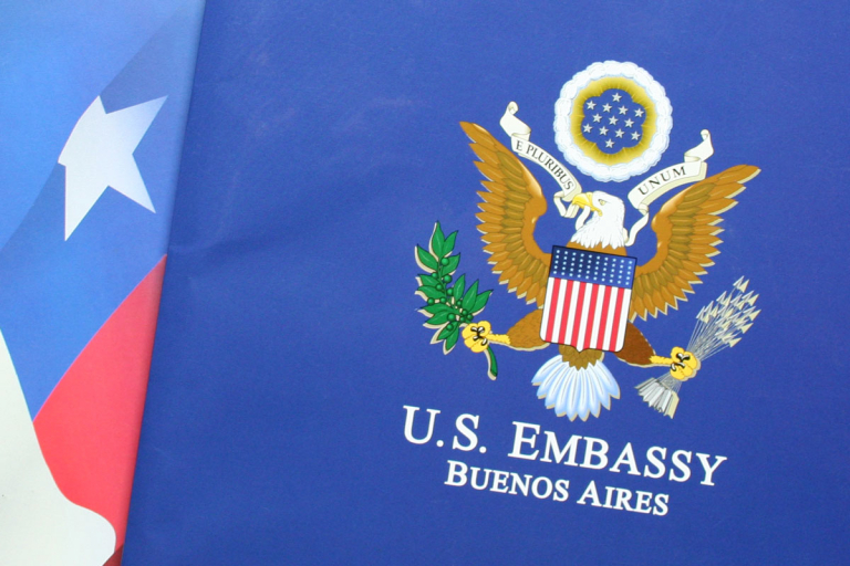 US Embassy Buenos Aires folders