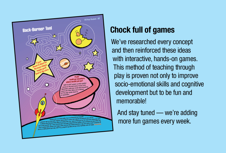 Dream It! is chock full of games