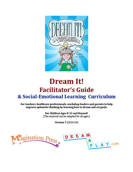 Dream It Playbook Facilitator-Guide for teachers and parents