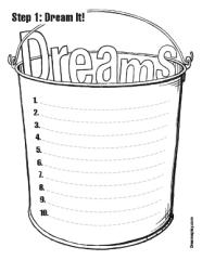 Dream Workshop Step 1 Dream It