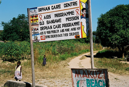 Makuzi Beach Malawi aids orphanage