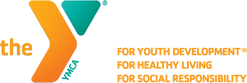 YMCA logo. For youth development. For healthy living. For social responsibility.